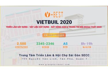 Vietbuild Tháng 6/2020 Xây dựng - Vật liệu xây dựng - Bất động sản & Trang trí nội ngoại thất